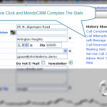 One Click CRM Data Entry