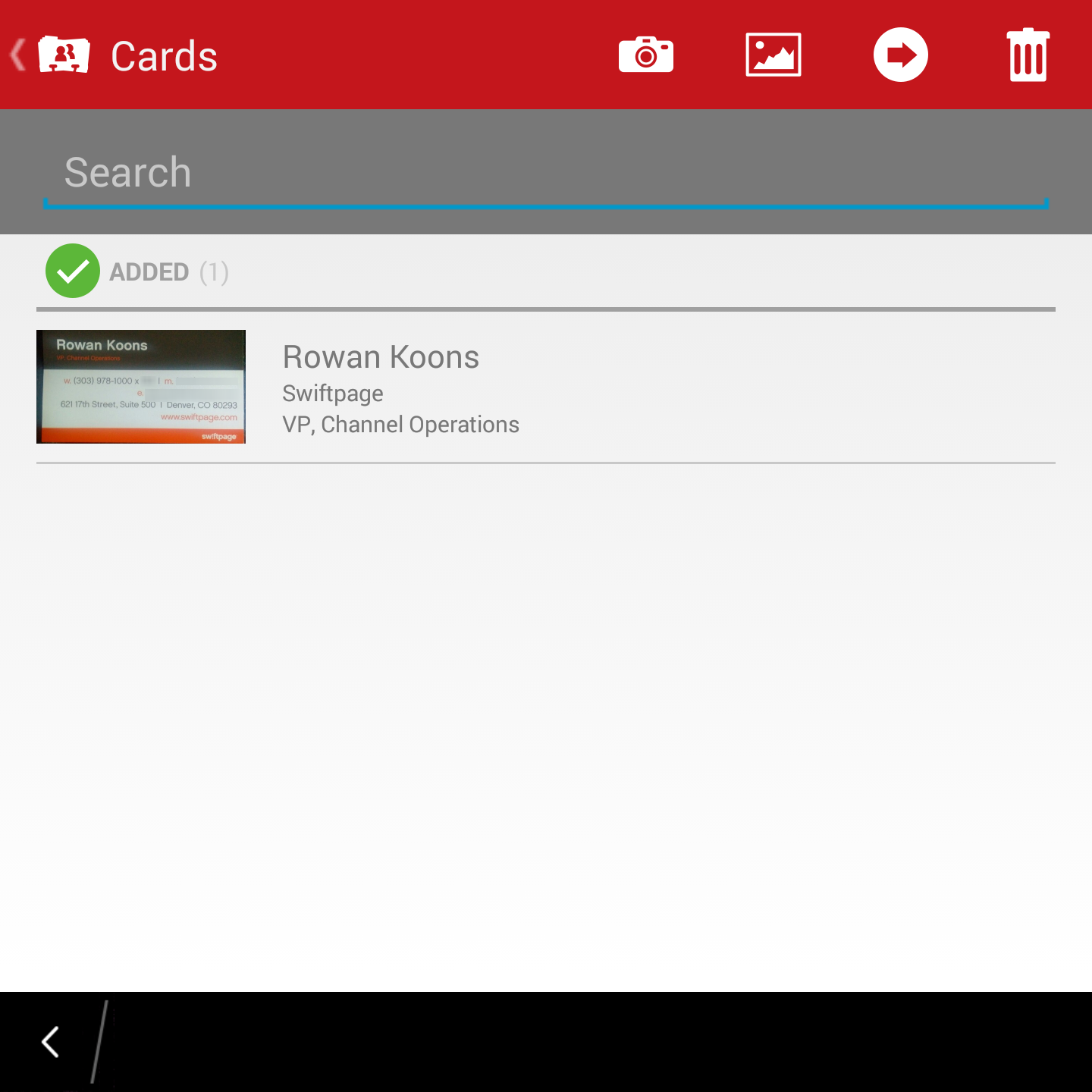 Act! Business Card Scanner for Android, iPhone or Blackberry – MondoCRM