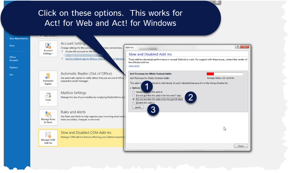 enable Act! Outlook Addin Archives - MondoCRM