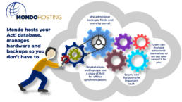 Act! Pro Hosting Graphic