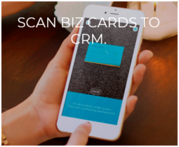 Scan Business Cards into CRM