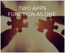 Two Apps Function as One