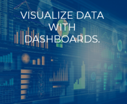 Visualize Data with Dashboards