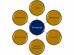 Enterprise Bubble Diagram