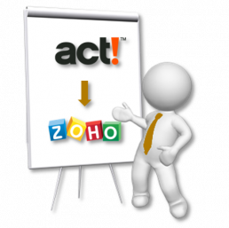 Act! to Zoho Whiteboard
